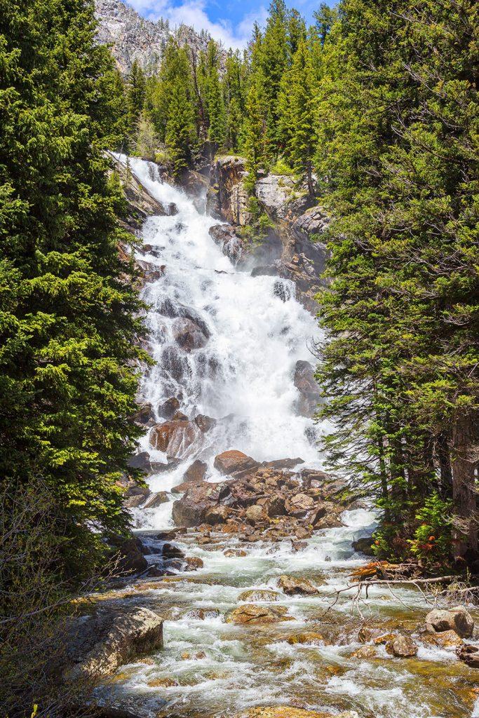 Hidden Falls at Jenny Lake